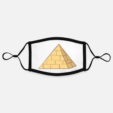 Pyramid Pyramid - Adjustable Contrast Face Mask (Small)