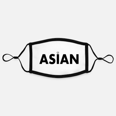Asian Asian - Adjustable Contrast Face Mask (Small)