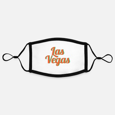 Las Vegas Las Vegas - Adjustable Contrast Face Mask (Small)