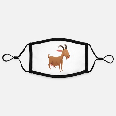 The Brown Goat - Adjustable Contrast Face Mask (Small)
