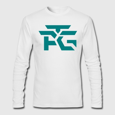 Logo Teal - Men's Long Sleeve T-Shirt by Next Level