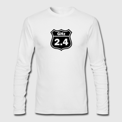 2.4GHz Road - Men's Long Sleeve T-Shirt by Next Level