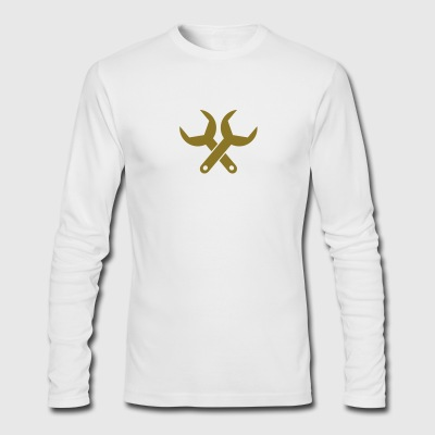 wrench - Men's Long Sleeve T-Shirt by Next Level