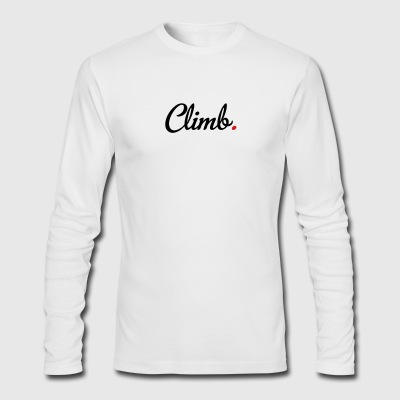 climb - Men's Long Sleeve T-Shirt by Next Level