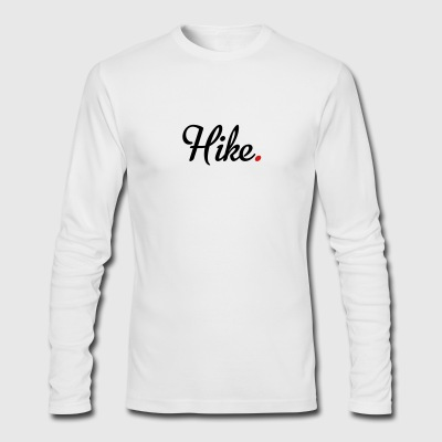hike - Men's Long Sleeve T-Shirt by Next Level