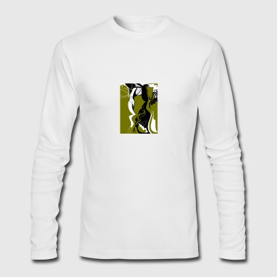 Face - Men's Long Sleeve T-Shirt by Next Level