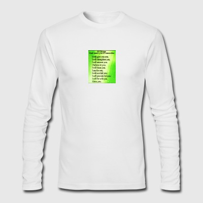 Godly - Men's Long Sleeve T-Shirt by Next Level