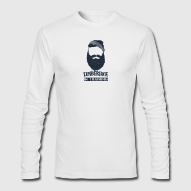 lumberjack in training - Men's Long Sleeve T-Shirt by Next Level