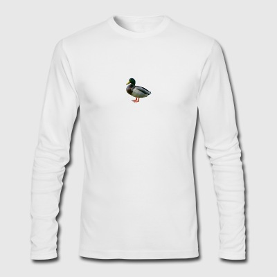 ducks - Men's Long Sleeve T-Shirt by Next Level