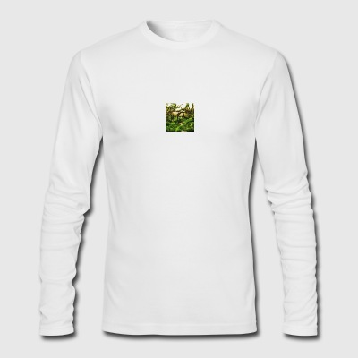 green aquarium - Men's Long Sleeve T-Shirt by Next Level