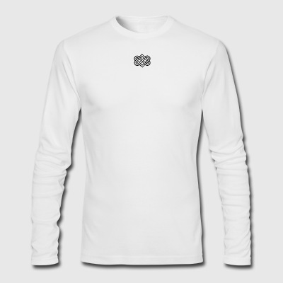 Symbol Of Love - Men's Long Sleeve T-Shirt by Next Level