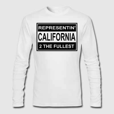REP_CALI - Men's Long Sleeve T-Shirt by Next Level