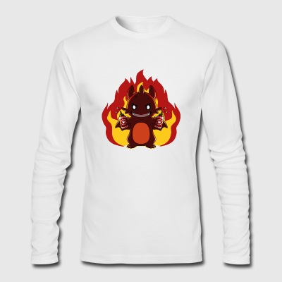 Bring the Heat - Men's Long Sleeve T-Shirt by Next Level