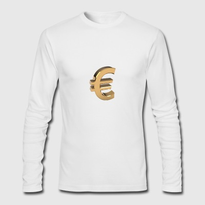 Currency, euro - Men's Long Sleeve T-Shirt by Next Level