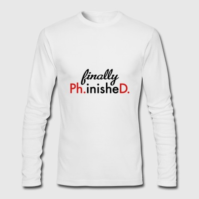 phd - Men's Long Sleeve T-Shirt by Next Level