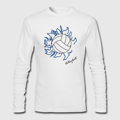 Volley ball - Men's Long Sleeve T-Shirt by Next Level