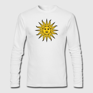 sun - Men's Long Sleeve T-Shirt by Next Level
