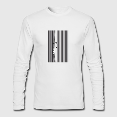 window - Men's Long Sleeve T-Shirt by Next Level