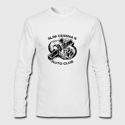 Slim Cessna's - Men's Long Sleeve T-Shirt by Next Level