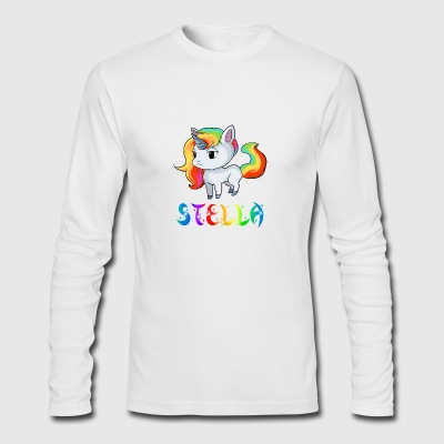 Stella Unicorn - Men's Long Sleeve T-Shirt by Next Level