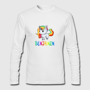 Benjamin Unicorn - Men's Long Sleeve T-Shirt by Next Level