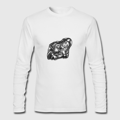 Mother & Child - Men's Long Sleeve T-Shirt by Next Level