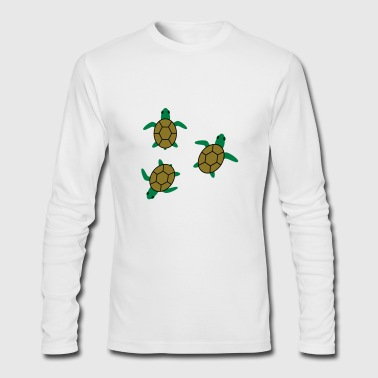 sea turtles - Men's Long Sleeve T-Shirt by Next Level