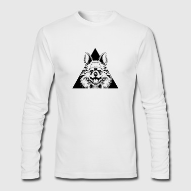 AFRO ANIMAL - Men's Long Sleeve T-Shirt by Next Level