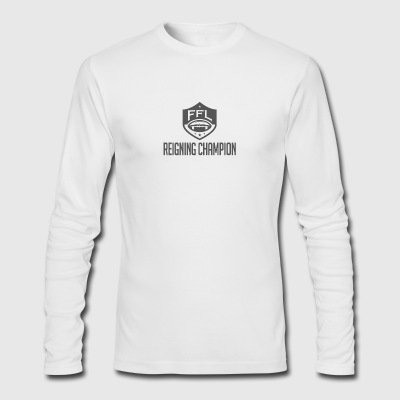 Fantasy Football Reigning Champion - Men's Long Sleeve T-Shirt by Next Level