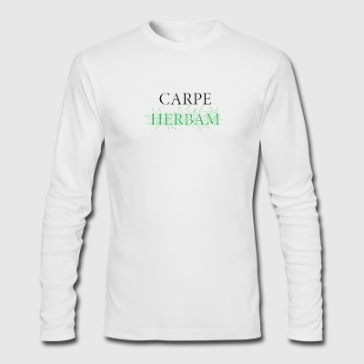 Carpe herbam - Men's Long Sleeve T-Shirt by Next Level