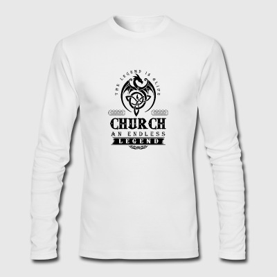 CHURCH - Men's Long Sleeve T-Shirt by Next Level