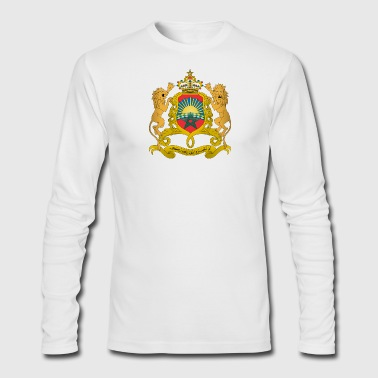 Coat of arms of Morocco svg - Men's Long Sleeve T-Shirt by Next Level