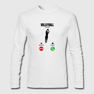 Volleyball is calling! Gift - Men's Long Sleeve T-Shirt by Next Level