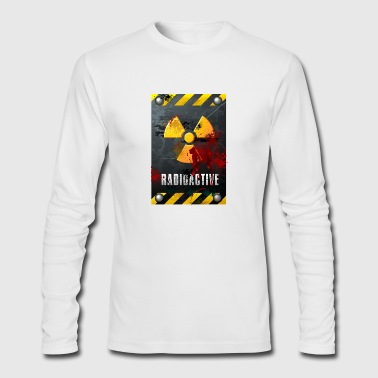 Radioactive sign - Men's Long Sleeve T-Shirt by Next Level