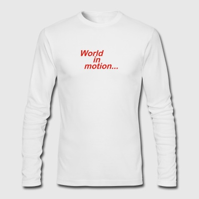 WORLD IN MOTION ENGLAND ITALIA 90 WORLD CUP FOOTBA - Men's Long Sleeve T-Shirt by Next Level