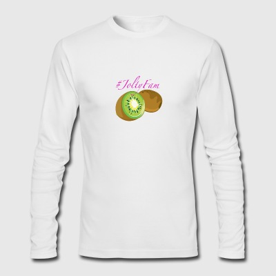 JoltyFam Kiwi Logo - Men's Long Sleeve T-Shirt by Next Level