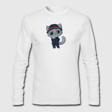 Casino Cat - Men's Long Sleeve T-Shirt by Next Level