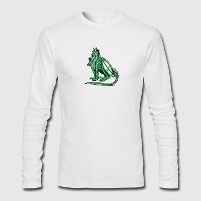 Green Beauty - Men's Long Sleeve T-Shirt by Next Level