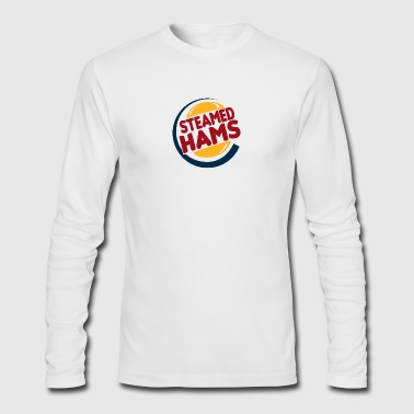 steamed hams - Men's Long Sleeve T-Shirt by Next Level