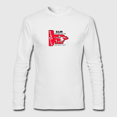 B M Automotive Hydro Stick - Men's Long Sleeve T-Shirt by Next Level