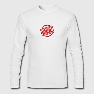 Certified Original Grunge Stamp - Men's Long Sleeve T-Shirt by Next Level