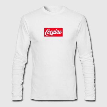 Coca - Men's Long Sleeve T-Shirt by Next Level