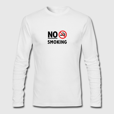 No smoking - Men's Long Sleeve T-Shirt by Next Level