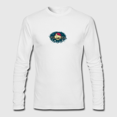 DJ Saturn - Men's Long Sleeve T-Shirt by Next Level
