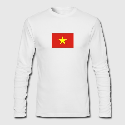 National Flag Of Vietnam - Men's Long Sleeve T-Shirt by Next Level