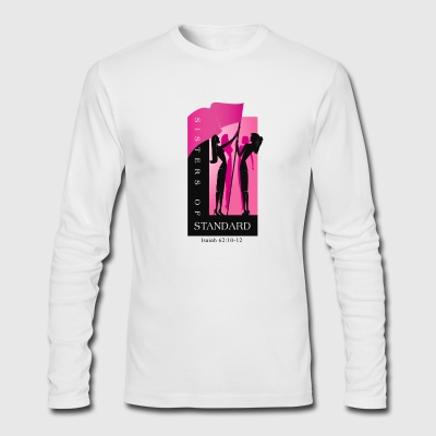 Sisters of Standard Logo Shirt - Men's Long Sleeve T-Shirt by Next Level