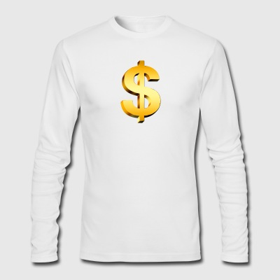 PNGPIX COM Dollar Sign PNG Image - Men's Long Sleeve T-Shirt by Next Level