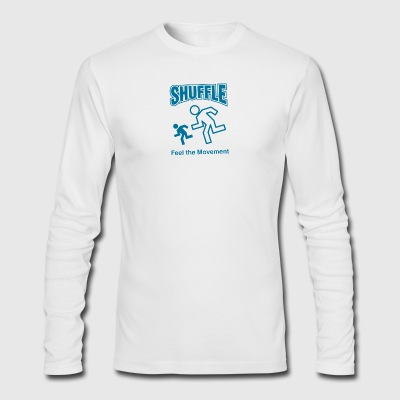Shuffle Feel the Movement - Men's Long Sleeve T-Shirt by Next Level