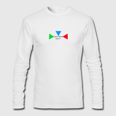 Offical Getto Read merchandise - Men's Long Sleeve T-Shirt by Next Level