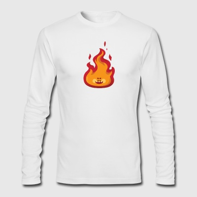 smile flame - Men's Long Sleeve T-Shirt by Next Level
